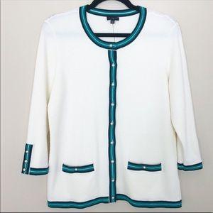 NWT Talbots Pearl Cardigan Sweater